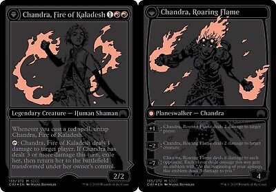 Unique & Misc Promos Chandra, Fire of Kaladesh // Chandra, Roaring Flame - SDCC