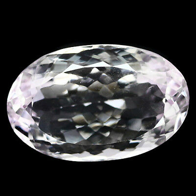 23.65 Ct Aaa! Natural! Pink Amethyst Oval Brazilian Adorable