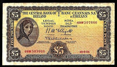 5 Pounds From Ireland 1956