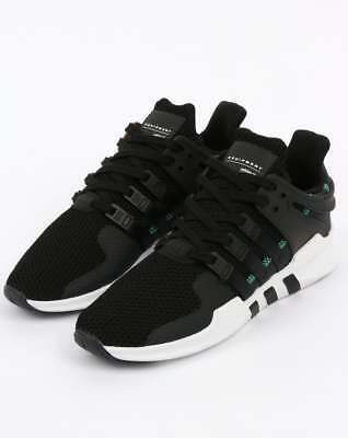 brand new c7d38 3f261 adidas EQT Support ADV Trainers in Black  White - Equipment Advance SALE