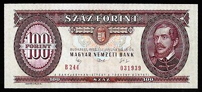 100 Forint From Hungary 1992  Unc