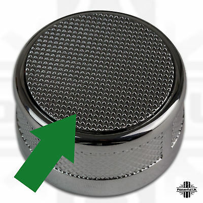 Pop up gear change selector knob topper knurled for Range Rover Sport 2010 L320