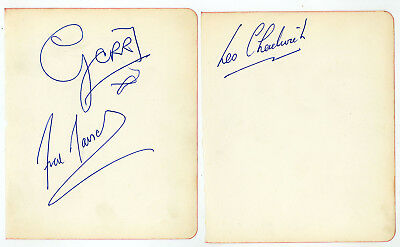 Gerry And The Pacemakers  Autographs Signatures 1960s