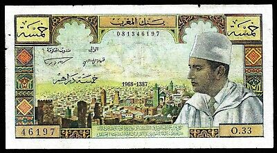 5 Dirhams From Morocco