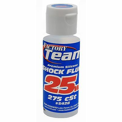 25 Weight Silicone Shock Oil 2 oz Team Associated ASC5428