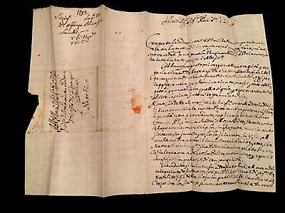 Old Italian Letter From Naples 1793