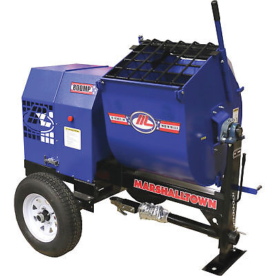 Marshalltown 800MP8HBO 8HP Gas Mortar/Plaster Mixer w/Pintle Tow and Outriggers