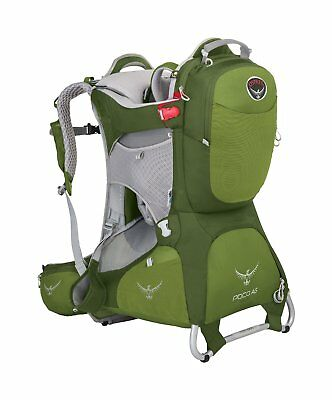 Osprey Packs Poco AG Plus Child Carrier, Color: Ivy Green
