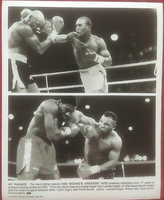 Rare Vintage Original Promo Photograph 'hbo's Greatest Hits' Mike Tyson 1989!!