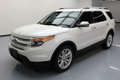 2013 Ford Explorer Limited Sport Utility 4-Door 2013 FORD EXPLORER LTD PANO SUNROOF LEATHER NAV 70K MI #A11852 Texas Direct Auto