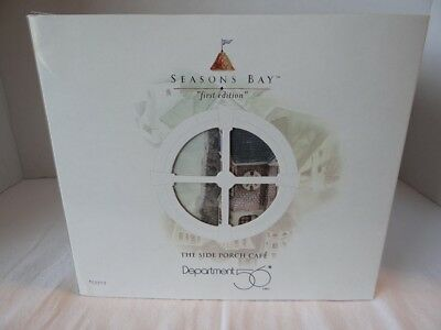 Dept 56 Seasons Bay The Side Porch Cafe First Edition #53303
