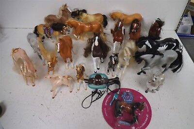 Huge lot (20) of Breyers Pony Gals + Dapples brushable horses