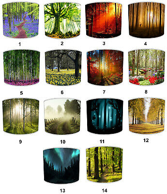 Countryside Lampshades, Ideal To Match Countryside Bedding Sets & Duvet Covers