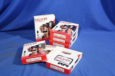 LOT of 6 Manfrotto Klyp Iphone 4/4S Case With 12 LED and Tripod #L3656BP