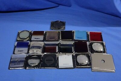 LOT of Assorted Ambico Special Effect Lens Filters #L3588BP