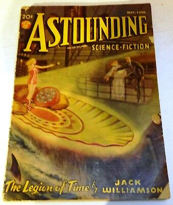 Astounding Science-Fiction - US pulp - May 1938 - Vol.21 No.3 - Jack Williamson