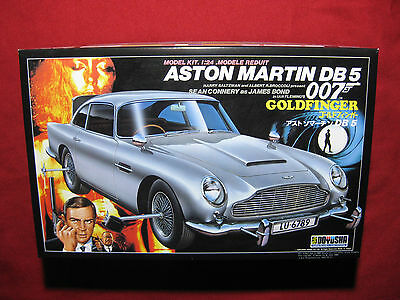 James Bond Goldfinger Aston Martin DB 5 Odd Job 007 Figures Doyusha 1:24 DB5 Car