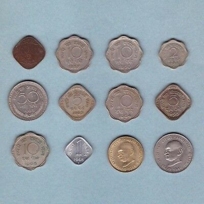 India (1944-1969) - Coin Collection Lot # A - World/Foreign/Asia