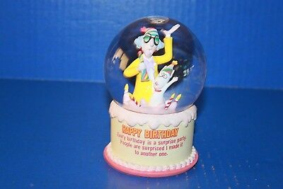 Cute Hallmark Maxine Happy Birthday Snowglobe