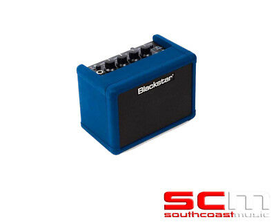 Blackstar FLY 3 Bluetooth FLY-3BTB Limited Blue Mini Guitar Amp Combo Amplifier
