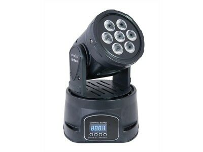 Eurolite LED TMH-9 Moving-Head Wash QCL-MovingHead mit 7 x 8W-LEDs RGBW DMX-512