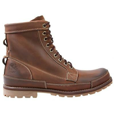 Timberland Earthkeepers Rugged Original Leather 6in Boot Brown Mens Size