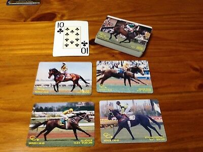 Action playing cards 1st August 1988 to 1st July 1989