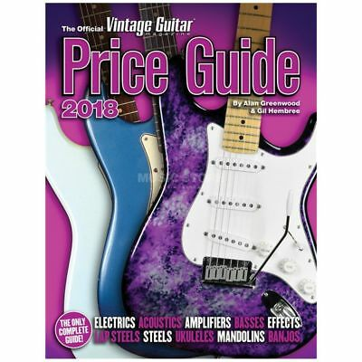Hal Leonard Hal Leonard - The Official Vintage Guitar Magazine Price Guide 2018