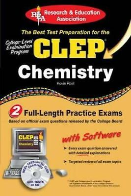 Clep Chemistry __ Brand New With Cd Rom__ Freepost Uk