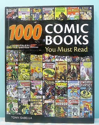 1000 Comic Books You Must Read Tony Isabella Krause 2009 catalogue handbook KP