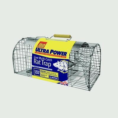 Live Multi Catch Mouse Rat Rodent Trap Humane Safe Cage - Catches 4 or More