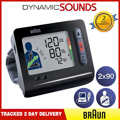 Braun TrueScan 5 Plus Wrist Home Blood Pressure Monitor EPS, Stores BPW4300