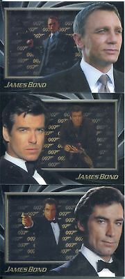 James Bond 50th Anniversary Series 2 Complete Shadowbox Chase Card Set S4-6