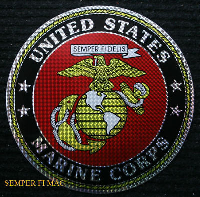 "12"" Xl Made In The Us Marines Sticker Zap Usmc Decal Fmf Uss Pin Patch Ega Wow"