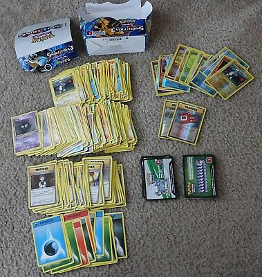 Pokemon TCG Card Game XY Evolutions Booster Box 360 CARDS + 36 ONLINE CODE CARDS