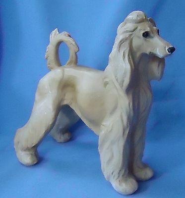 1940s AFGHAN HOUND DOG JAN ALLAN 10""