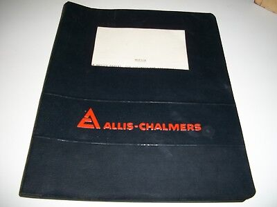 old 1970's AC Allis-Chalmers Manual for dealers and Parts Managers farm course