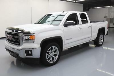 2014 GMC Sierra 1500  2014 GMC SIERRA SLT DBL CAB 6-PASS HTD LEATHER 20'S 37K #243722 Texas Direct