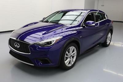 2017 Infiniti QX30  2017 INFINITI QX30 LUXURY HTD LEATHER REAR CAM 20K MI #037546 Texas Direct Auto