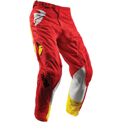2018 Thor Pulse Air Radiate Red Off-Road Pants - Size 28-44