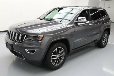 2017 Jeep Grand Cherokee Limited Sport Utility 4-Door 2017 JEEP GRAND CHEROKEE LTD PANO NAV REAR CAM 22K MI #718800 Texas Direct Auto