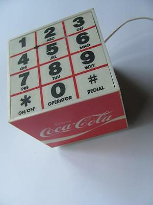 Vintage Coca Cola Coke Hands-Free Speaker Phone Cube 1984 Olympics Los Angeles