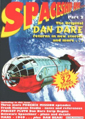 Spaceship Away Dan Dare #02