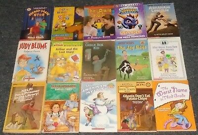 50 Accelerated Reader LG Chapter Children's Books lower grades ages 4-8