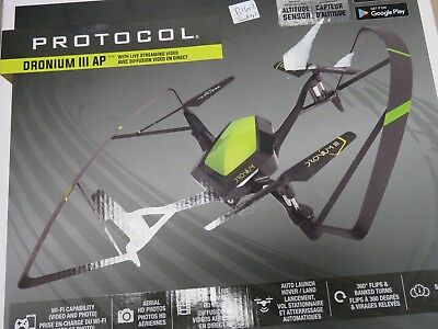 Protocol Dronium III AP Drone with Remote Controller - Green/Black