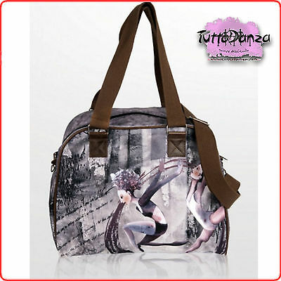 Borsa Grafica Originale Balletto Danza Classica Ballo Bowling Bag