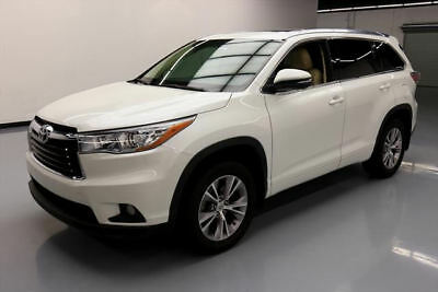 2015 Toyota Highlander  2015 TOYOTA HIGHLANDER XLE SUNROOF NAV HTD LEATHER 40K #116940 Texas Direct Auto