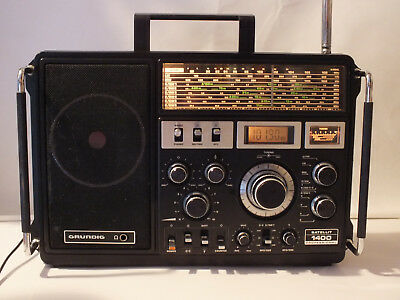 Grundig Satellit 1400 Professional Weltempfänger Woldreceiver Short Wave