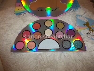Too Faced Life's A Festival Eyeshadow Palette AUTHENTIC w/receipt w/w ship