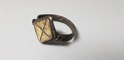 Migration Period Silver Ring  5th ,6th century. AD